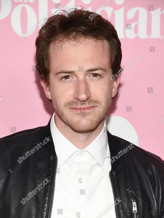 """Stock Image of Joseph Mazzello attends the premiere of Netflix's """"The Politician"""" at the DGA New York Theater, in New York"""