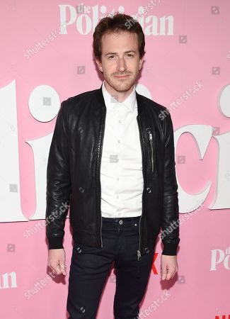 """Joseph Mazzello attends the premiere of Netflix's """"The Politician"""" at the DGA New York Theater, in New York"""