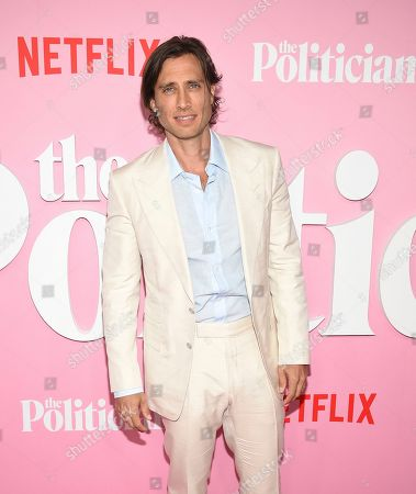 """Creator/writer/director Brad Falchuk attends the premiere of Netflix's """"The Politician"""" at the DGA New York Theater, in New York"""