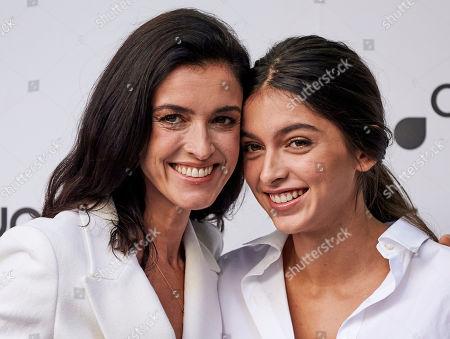 Blanca Romero and Lucia Rivera