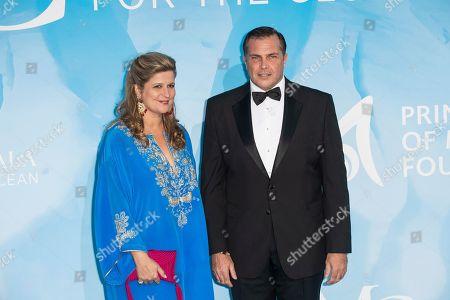 Editorial photo of Monte Carlo Gala for the Global Ocean, Monaco - 26 Sep 2019