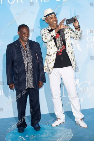 Stock Photo of Kool & The Gang - Robert Kool Bell and Shawn McQuiller