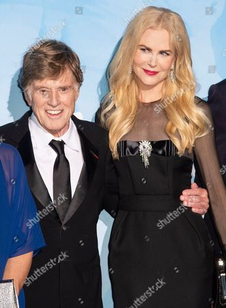 Robert Redford and Nicole Kidman