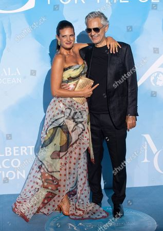 Veronica Berti and Andrea Bocelli