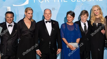 Andy Garcia, Uma Thurman, Prince Albert II, Sibylle Szaggars, Robert Redford and Nicole Kidman
