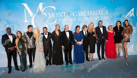 Editorial photo of Monte Carlo Gala for the Global Ocean, Monaco - 26 Sep 2019