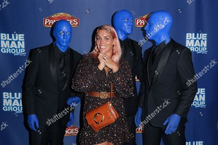 Busy Philipps and the Blue Man Group