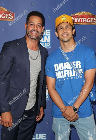 Stock Image of Trevor Penick and Erik-Michael Estrada