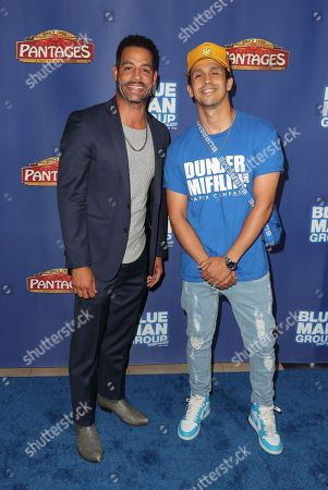 Editorial picture of Blue Man Group in concert at the Hollywood Pantages Theatre, Arrivals, Los Angeles, USA - 26 Sep 2019
