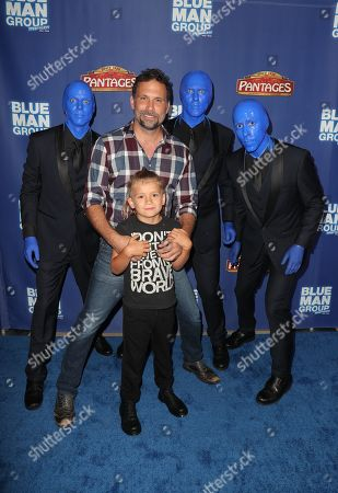 Jeremy Sisto, Bastian Kick Sisto and the Blue Man Group