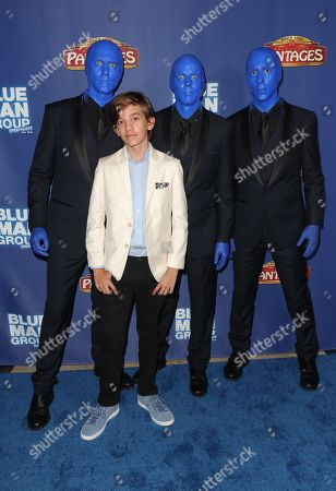 Prestyn Bates and the Blue Man Group