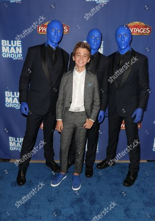 Parker Bates and the Blue Man Group
