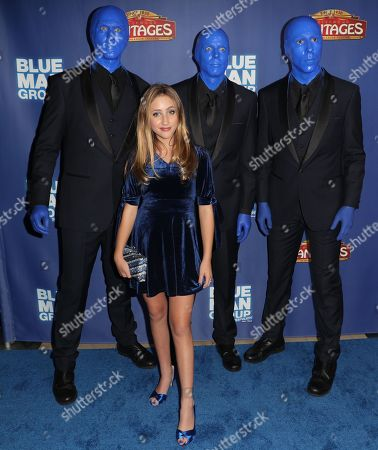 Ava Kolker and the Blue Man Group