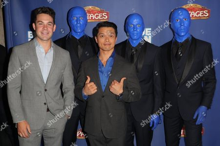 Guest, Vincent Rodriguez III and the Blue Man Group