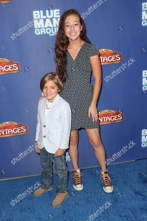 Stock Picture of Jeremy Maguire and Aubrey Anderson-Emmons