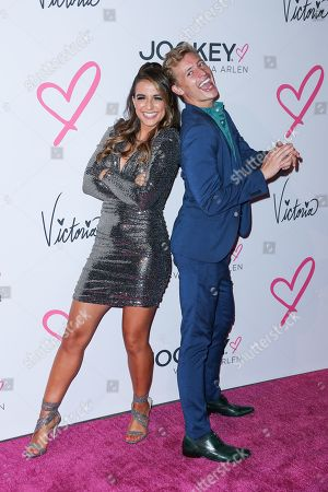 Victoria Arlen and Logan Coffey