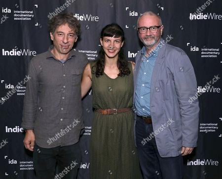 Stock Picture of Co-Directors Ljubo Stefanov, Tamara Kotevska and IDA Executive Director Simon Kilmurry