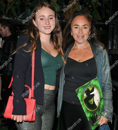 Editorial picture of 'Wicked The Musical' new cast change press night, Apollo Victoria Theatre, London, UK - 26 Sep 2019