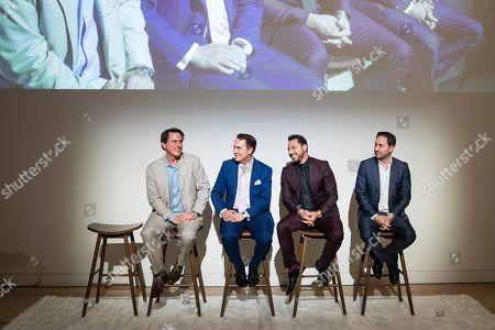Stock Image of Gregory Malin, Joel Goodrich, Josh Altman, Matt Altman
