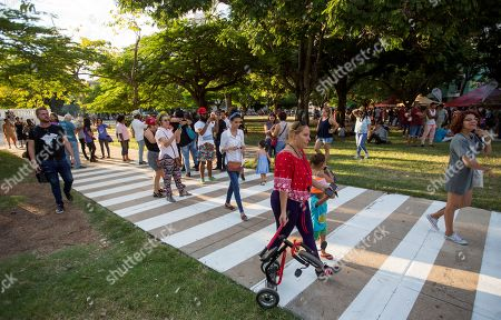 Editorial picture of Cuba joins the celebration of 50 years of 'The Abbey Road' album of The Beatles, Havana - 26 Sep 2019