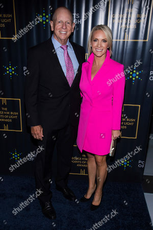 Peter McMahon, Dana Perino. Peter McMahon and Dana Perino attend the George H.W. Bush Points of Light Awards Gala at the Intrepid Sea, Air & Space Museum, in New York