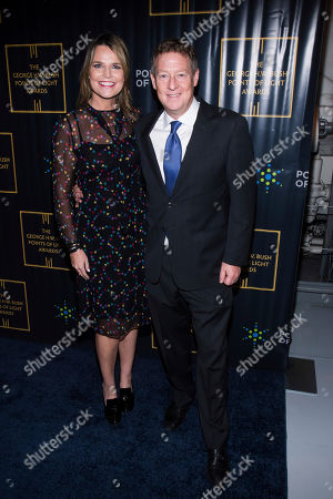 Stock Picture of Michael Feldman, Savannah Guthrie. Savannah Guthrie and Michael Feldman attend the George H.W. Bush Points of Light Awards Gala at the Intrepid Sea, Air & Space Museum, in New York