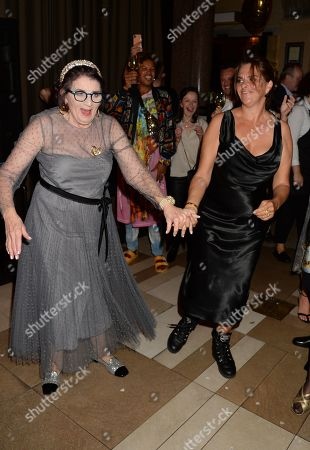 Stock Image of Sandra Esquilant and Tracey Emin