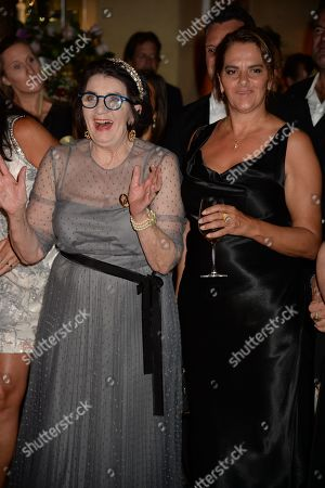 Editorial picture of The Golden Heart party for Sandra Esquilant at Galvin La Chapelle, London, UK - 26 Sep 2019
