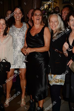 Stock Photo of Tracey Emin and guests