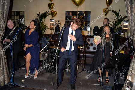 Editorial image of The Golden Heart party for Sandra Esquilant at Galvin La Chapelle, London, UK - 26 Sep 2019