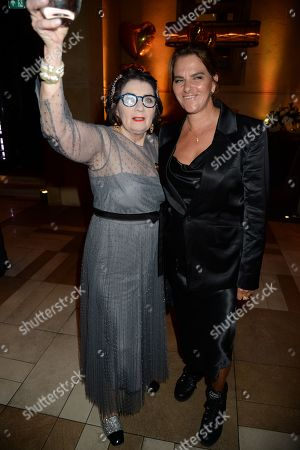 Sandra Esquilant and Tracey Emin