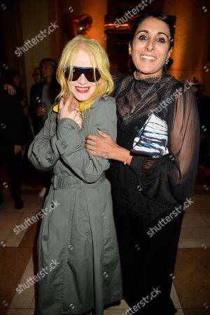 Stock Photo of Pam Hogg and Serena Rees