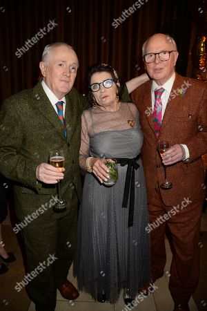 George Passmore, Sandra Esquilant and Gilbert Prousch