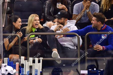 Editorial picture of Celebrities at Philadelphia Flyers v New York Rangers NHL Ice Hockey game, Madison Square Garden, New York, USA - 26 Sep 2019
