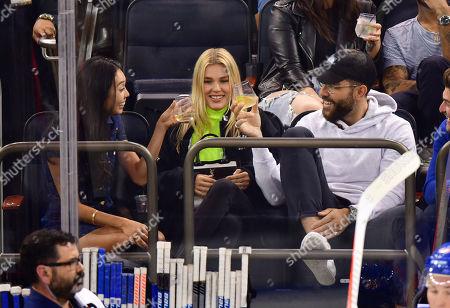 Editorial image of Celebrities at Philadelphia Flyers v New York Rangers NHL Ice Hockey game, Madison Square Garden, New York, USA - 26 Sep 2019