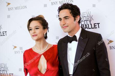 Stock Photo of Lauren Lovette (L) and Zac Posen