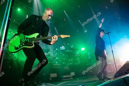 Steve Harris and Gary Numan