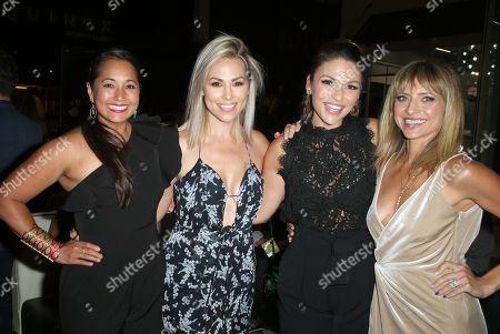 Veena Crownholm, Jessica Hall, Christine Lakin, Guest