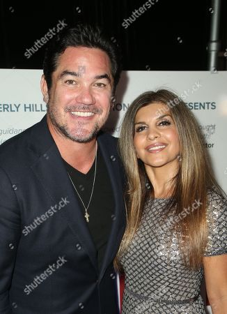 Stock Picture of Dean Cain, Angie Sadeghi