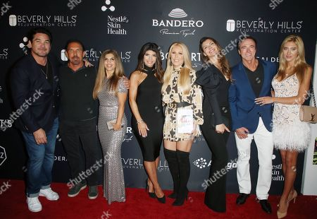 Stock Image of Dan Holtz, Jessica Hall, Teresa Giudice, Angie Sadeghi, Gretchen Rossi, Guests
