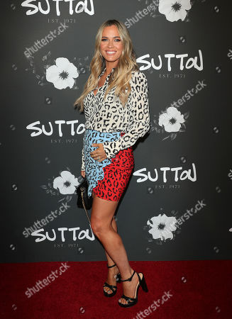 Editorial image of Sutton store launch, Los Angeles, USA - 26 Sep 2019