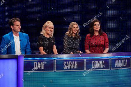 Stock Image of (L-R) Dan Snow, Sarah Greene, Donna Air and Amanda Lamb