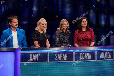 (L-R) Dan Snow, Sarah Greene, Donna Air and Amanda Lamb