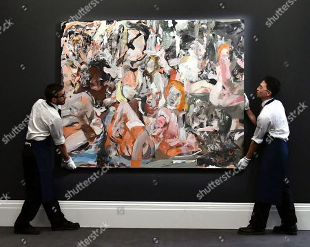 Cecily Brown, The Year of the Scavenger, 2012, estimate, £1,000-0001,500,000