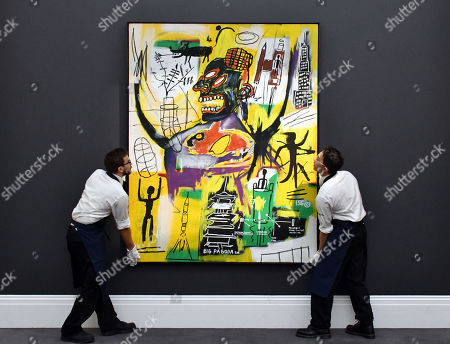 Editorial image of Sotheby's Frieze week Contemporary art auctions, London, UK - 27 Sep 2019