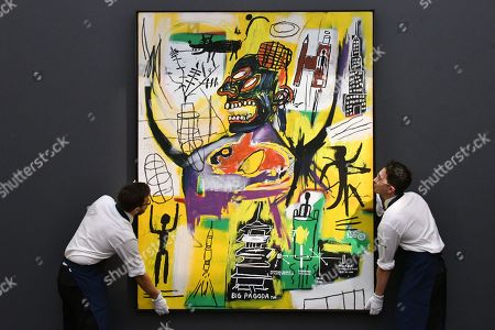 Stock Photo of Jean-Michel Basquiat, Pyro, 1984, estimate over £9million