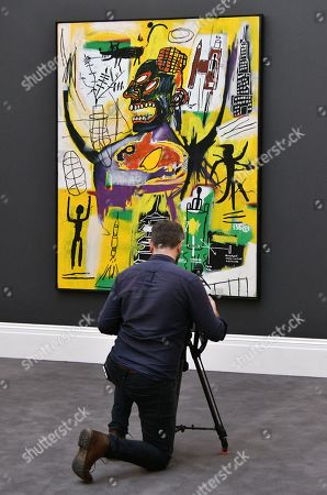 Jean-Michel Basquiat, Pyro, 1984, estimate over £9million