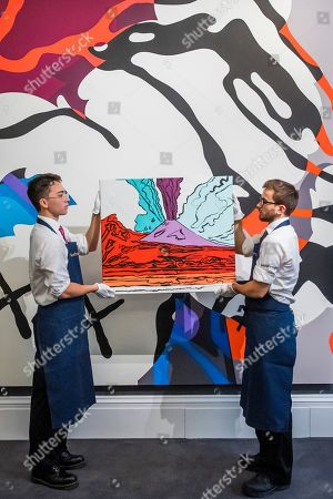 Editorial picture of Sotheby's Frieze week Contemporary art auctions, London, UK - 27 Sep 2019