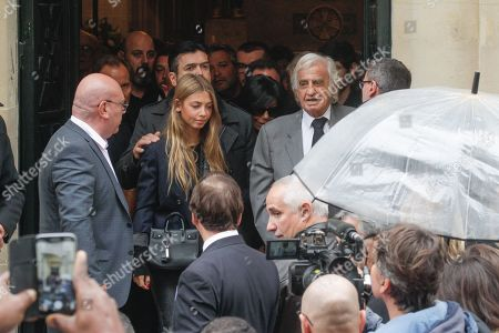Editorial image of The funeral of Charles Gerard, Paris, France - 26 Sep 2019