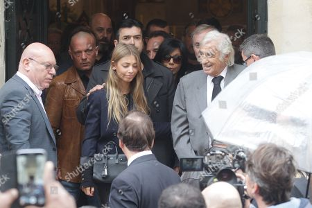 Editorial picture of The funeral of Charles Gerard, Paris, France - 26 Sep 2019